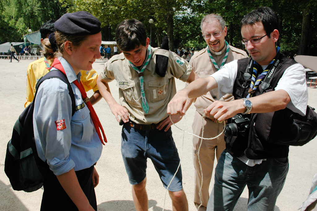Rencontre internationale scout